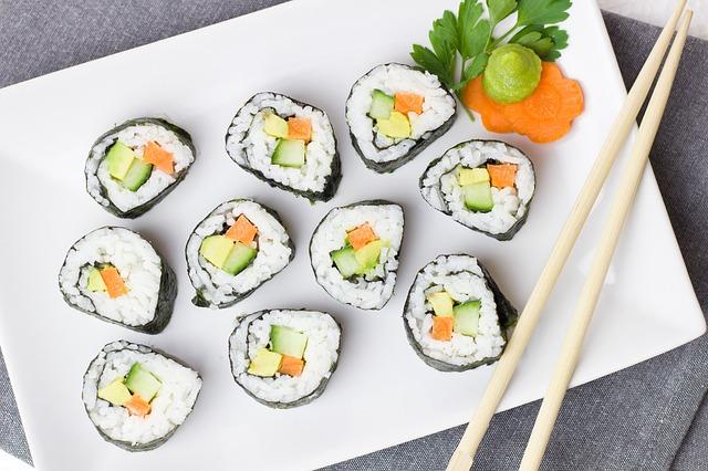 Sushi heaven, een sushi machine…
