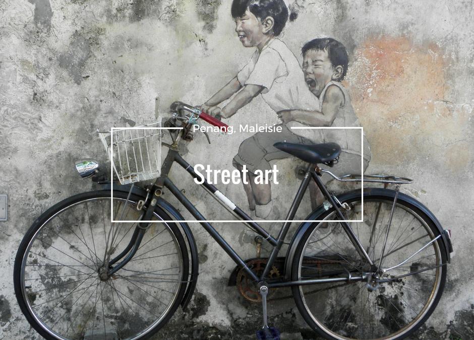Penang street art, the next level