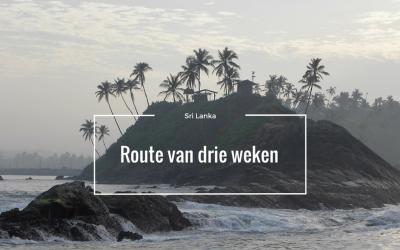 Sri Lanka, onze route in drie weken