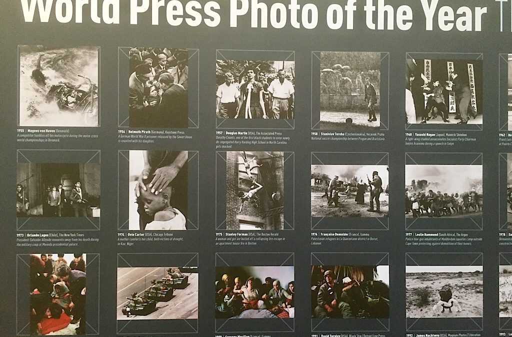 World Press Photo 2017 in de nieuwe kerk in Amsterdam