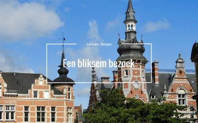 Bliksembezoek aan Leuven