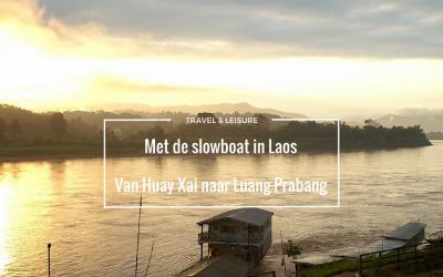 Van Huay Xai naar Luang Prabang met de slowboat