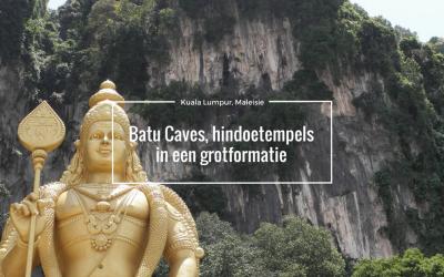 Batu Caves, Hindoetempel in een grotformatie