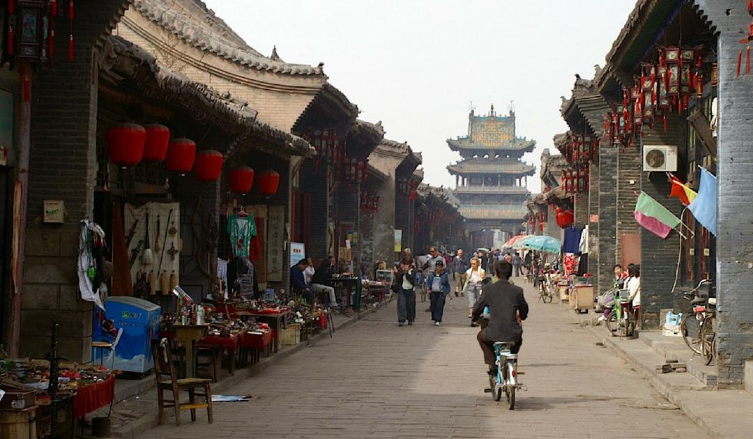 Pingyao, een goedbewaard authentiek Chinees dorpje