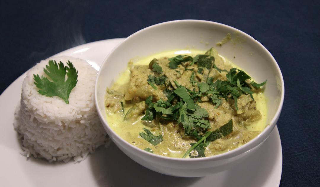 Veggie Feb, vier maal vegetarisch, Indiase korma