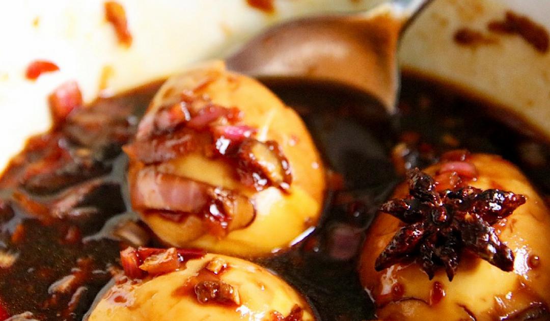 Telor kecap, Indonesisch recept voor eieren in ketjapsaus