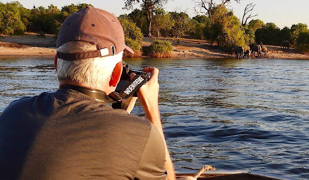 Op safari met een boot op de Chobe rivier