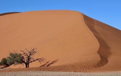 Sossusvlei, de rode zandduinen van Namibie