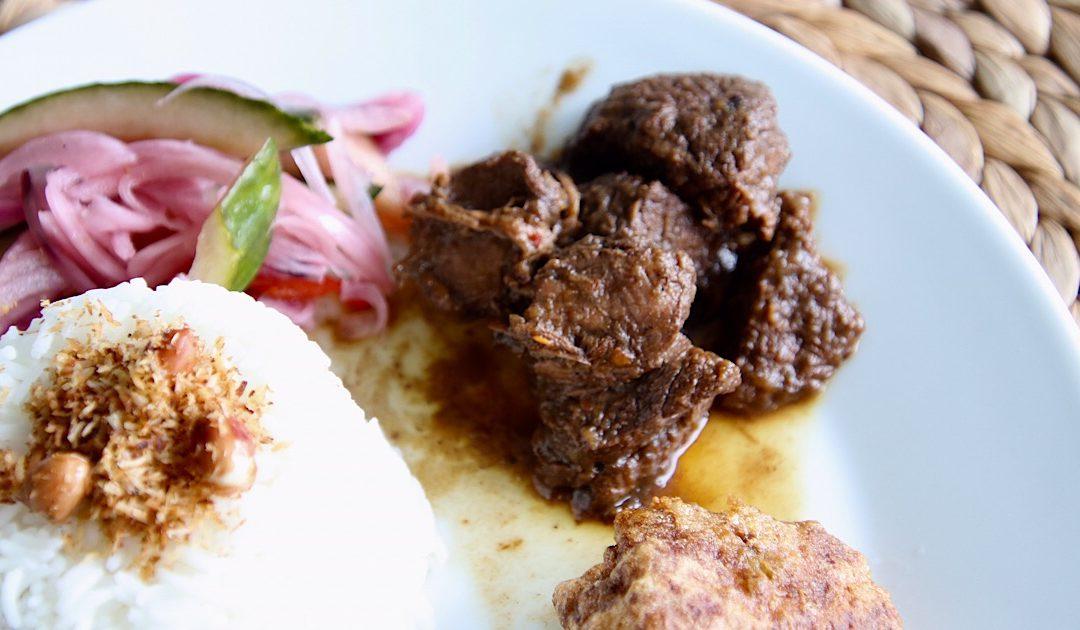 Daging smoor, Indonesisch gestoofd rundvlees