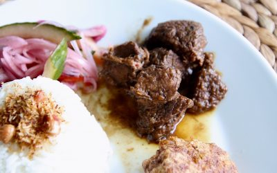 Daging smoor, Indonesisch gestoofd rundvlees