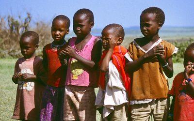 Ontmoet de Masai op de Masai Mara in Kenia
