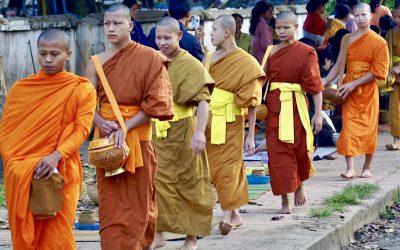 Luang Prabang, de leukste stad van Laos en misschien wel van heel Azie.
