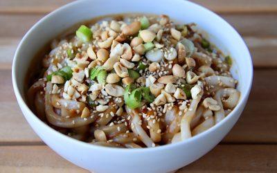 Chinese sesam noodles, klaar in 10 minuten