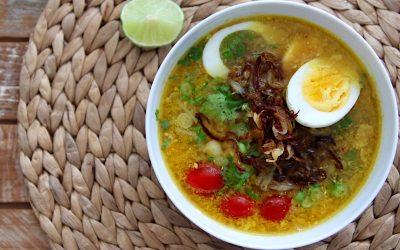Soto ayam, deze Indonesische kippensoep lust je elke dag