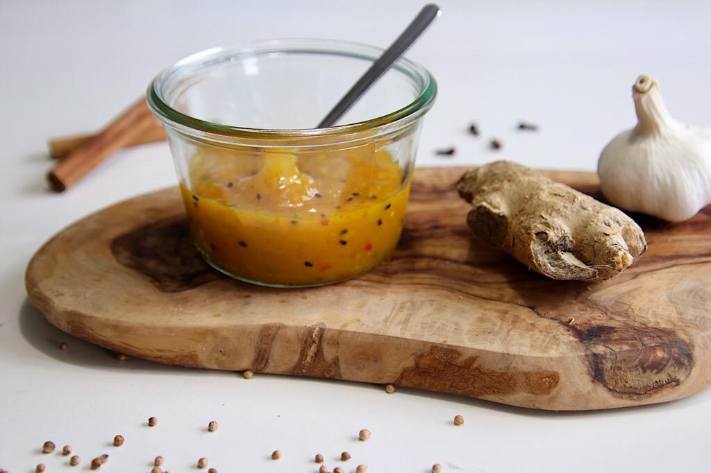 Indiase mango chutney